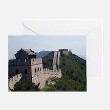 GreatWallOfChinaMousepad Greeting Card