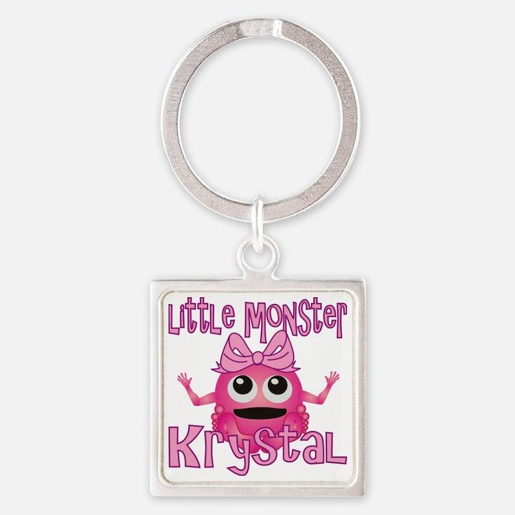 krystal-g-monster Square Keychain
