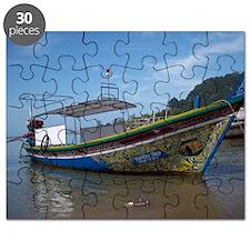 KrabiLongTailBoatMousepad Puzzle