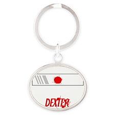 bloodslides2 Oval Keychain