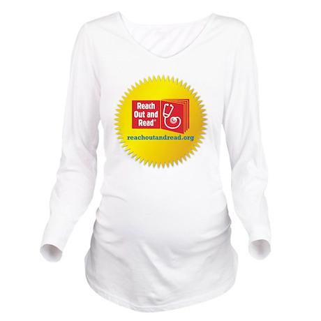 Logo in Starburst Tr Long Sleeve Maternity T-Shirt