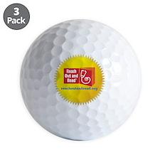 Logo in Starburst Transparent Golf Ball
