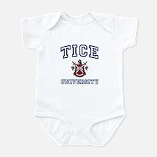 TICE University Infant Bodysuit