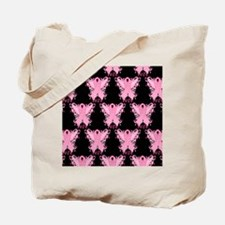 PinkRibWingsLPbMp Tote Bag