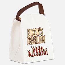 Bacons Rebellion 1676 Virginia Canvas Lunch Bag