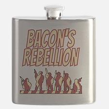 Bacons Rebellion 1676 Virginia Flask