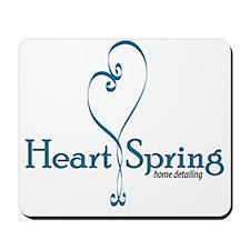 Heart Spring logo for shirts Mousepad