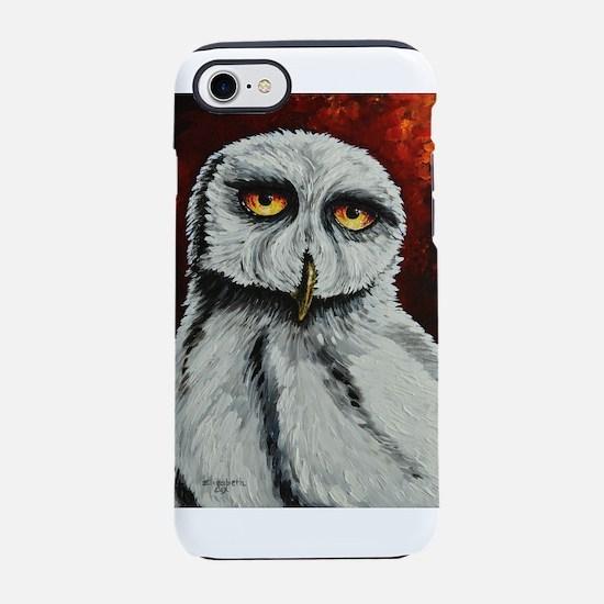 Snowy Owl iPhone 7 Tough Case