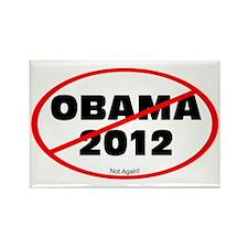 Not Obama 2012 Rectangle Magnet