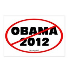 Not Obama 2012 Postcards (Package of 8)