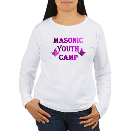 Masonic youth camp women 39 s long sleeve t shirt masonic for Women s long sleeve camp shirts