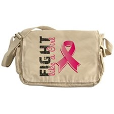 - Fight Like A Girl Breast Cancer 28 Messenger Bag