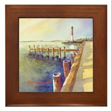 Barnegat LightORN1-BOX Framed Tile