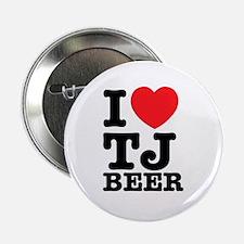 "I Love TJ Beer 2.25"" Button (10 pack)"