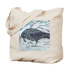 ravenSQUARE Tote Bag