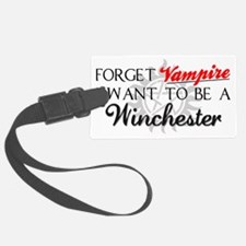 Forget Vampires Hat Luggage Tag