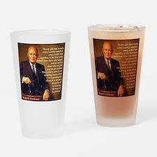 Eisenhower Every Gun 1 Drinking Glass