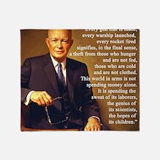 Eisenhower Every Gun 1 Throw Blanket