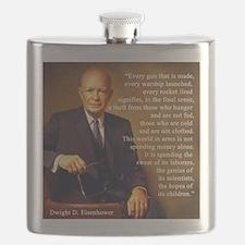 Eisenhower Every Gun 1 Flask