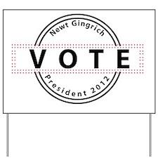 Gingrich Yard Sign