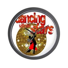 Dancing with the Stars Disco ball Dance Wall Clock