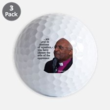 Desmond Tut if you are neutral Golf Ball