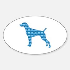 Bone Pointer Oval Decal