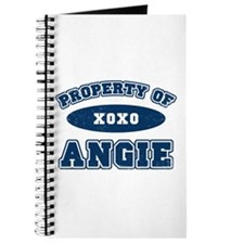 """""""Property of Angie"""" Journal"""