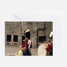 National Historic Site. Reenactment  Greeting Card
