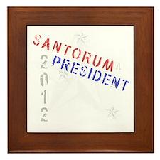 santorum Framed Tile