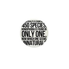 Homosexuality In 450 Species Mini Button