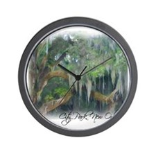 city park new orleans Wall Clock