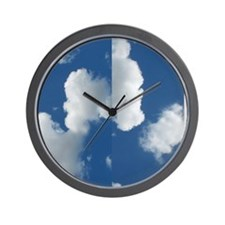 cloudflop Wall Clock