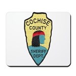 Cochise County Sheriff Mousepad