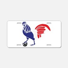 France Le Coq Aluminum License Plate
