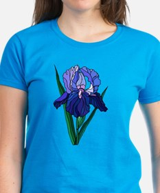 Stained Glass Iris Tee