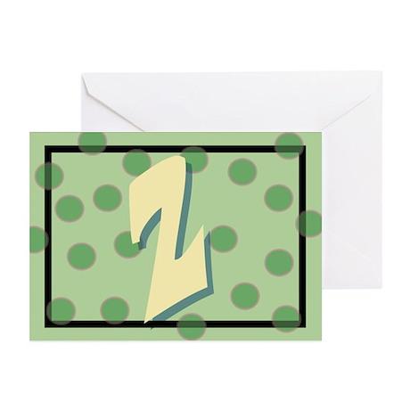 """""""Z"""" Pokla-Dot Greeting Cards (Pk of 10)"""