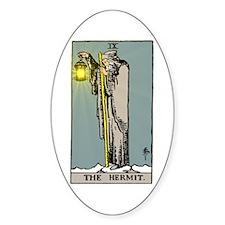 Hermit Tarot Decal