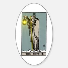 Hermit Tarot Decal