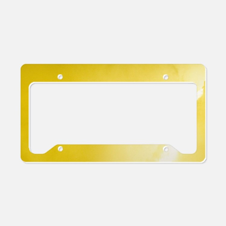 Molten brass in foundry. License Plate Holder