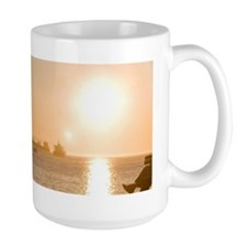 Watching the sunset at English Bay Beac Mug
