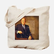 Eisenhower Every Gun round Tote Bag