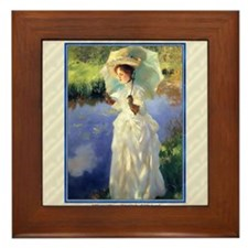 1 JAN SARGENT MorningWalk Framed Tile