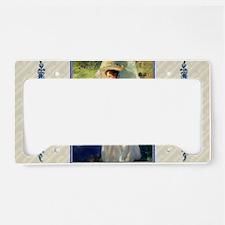 1 JAN SARGENT AMorningWalk License Plate Holder