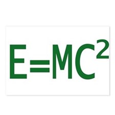E=MC2 Postcards (Package of 8)