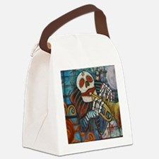 NEW dead PRINT Canvas Lunch Bag