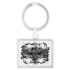 animal-liberation-02 Landscape Keychain