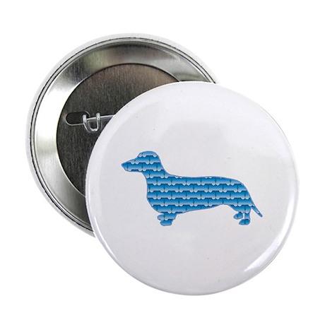 """Bone Dachshund 2.25"""" Button (100 pack)"""