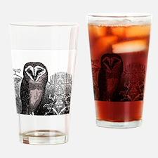 OwlRound Drinking Glass