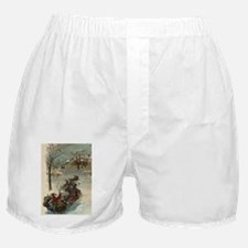 Oval Boxer Shorts